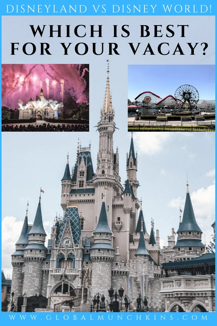 Deciding whether Disneyland or Disney World is the best choice for your family can be a daunting task! The two locations do have many similarities. However, they have some big differences to take into consideration as well. In this guide, we'll cover what sets the Anaheim and Orlando parks apart from one another and get a better idea of which resort is the best fit for your upcoming trip. #Disneyland vs #DisneyWorld; here we go! #disneytravel #disneytips #vacaytips #vacationtips #familyvacation #traveltips #disney