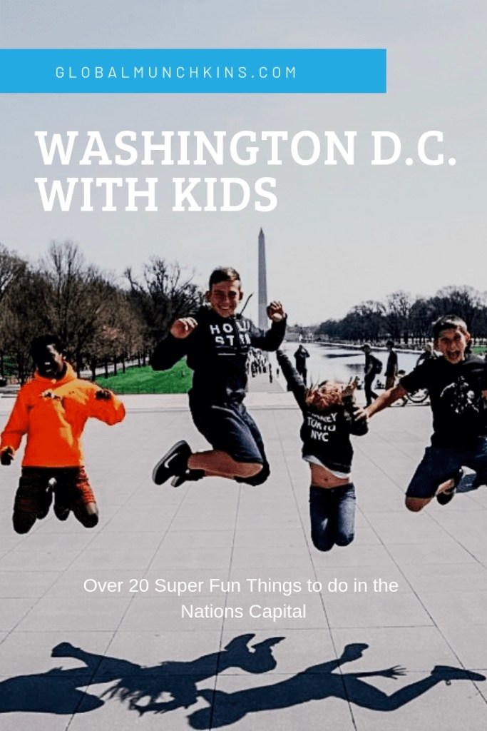 Ultimate Guide of things to do in Washington DC with Kids