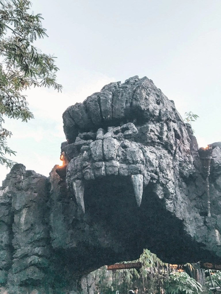 Islands of Adventure Ride - Kong