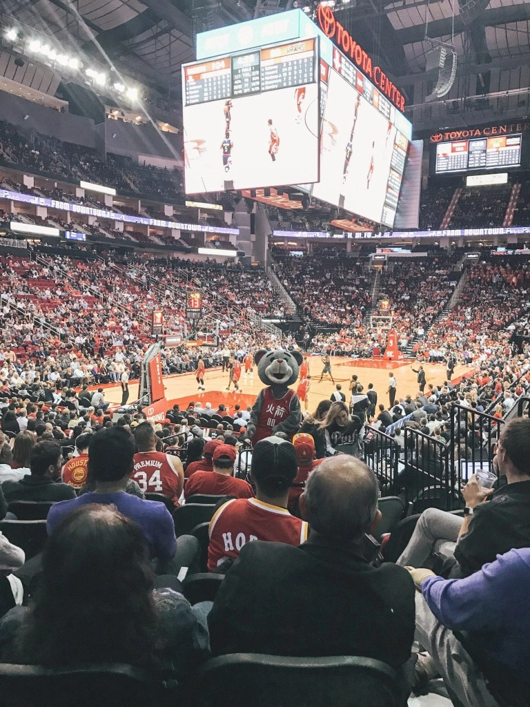 things to do in Houston with kids - Rockets Game