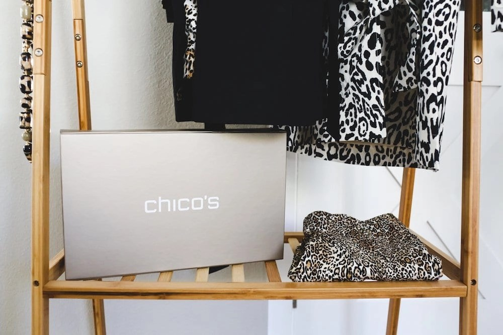 Chico's fall line including adorable animal print looks
