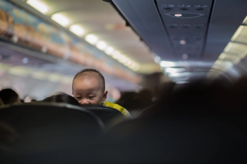 how to fly with a baby