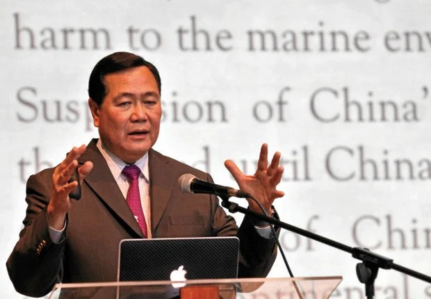 Supreme court Snr. Associate Justice Antonio Carpio (CDN PHOTO/JUNJIE MENDOZA)
