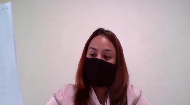 Overseas Filipino worker (OFW) 'Diana'