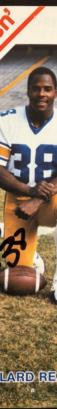 Willard Reaves as a Winnipeg Blue Bomber.