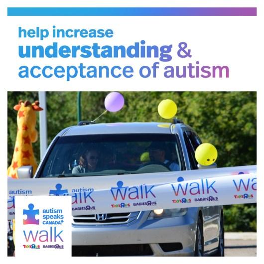 Global BC & 980 CKNW sponsors Autism Speaks Canada Walk on Wheels Car Parade
