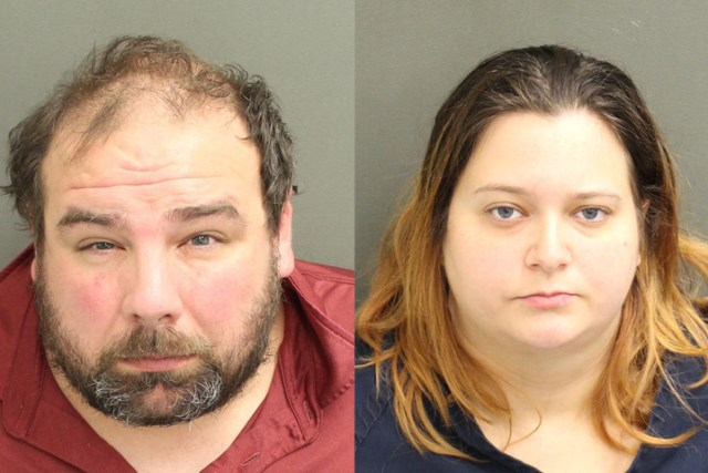 Timothy Lee Wilson II, 34, and Kristen Nicole Swann, 31, are shown in these mugshot photos from Jan. 5, 2021.