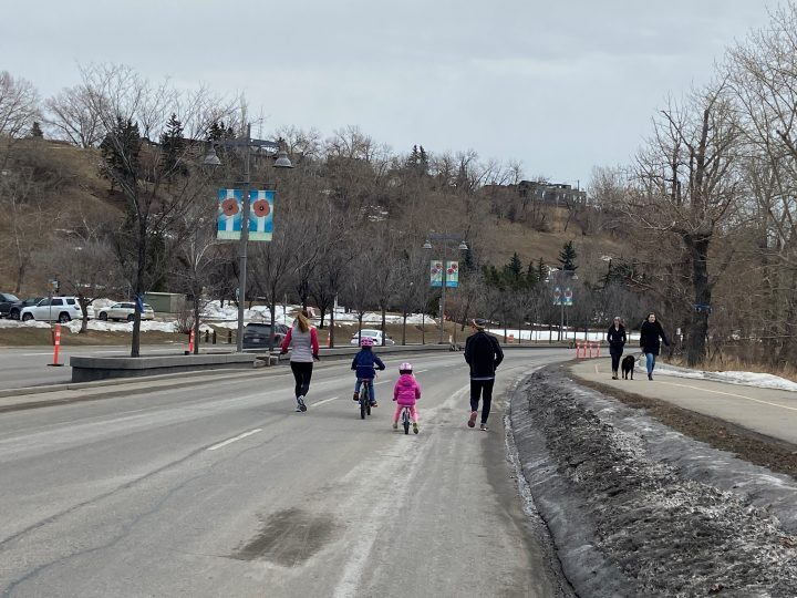 Adaptive lanes reopen in Calgary with several taking on a more permanent feel