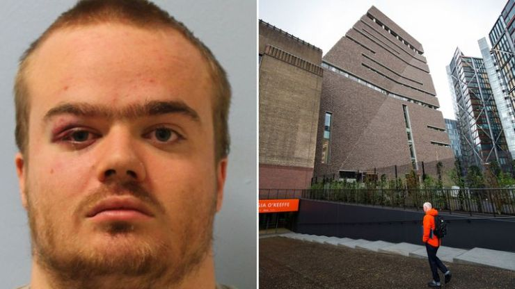 Jonty Bravery has admitting throwing a boy from the 10th floor at the Tate Modern