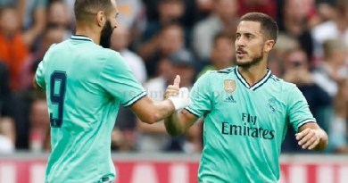 Eden Hazard and Karim Benzema Nominates for 2019 Ballon d'Or award- See Full List