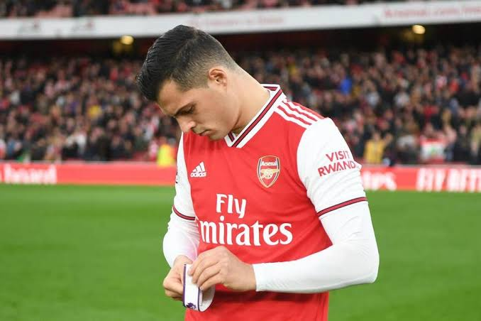 Granit Xhaka Removed as Arsenal Captain