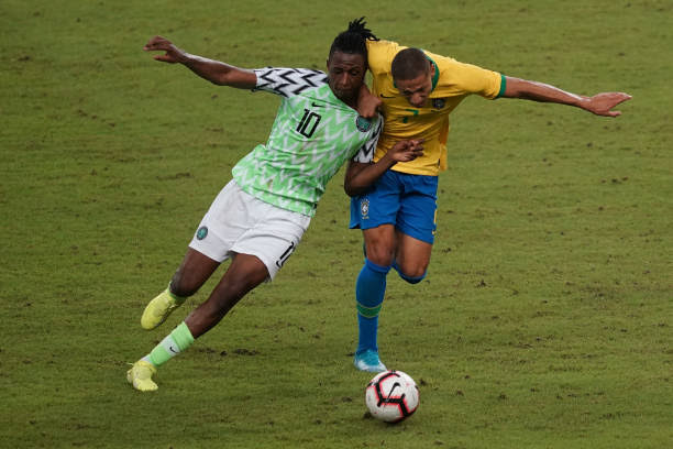 AFCON 2021 Qualifiers: Rohr Reveals why Joe Aribo miss out in the Super Eagles Starting XI against Benin