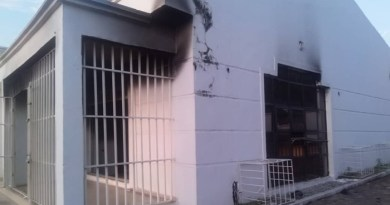 Thugs set SDP office ablaze in Kogi (Photos)