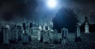 Shocking: Ghost chases Man for alleged raped woman in a graveyard