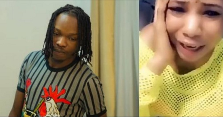 Viral Video of a Lady In Tears As She Professes Love For Naira Marley