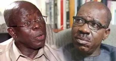 Just In: Court stops Gov. Obaseki from arresting Adams Oshiomhole