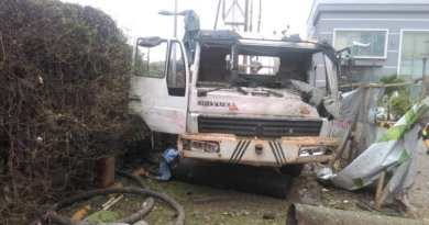 BREAKING: Several Injured, Cars damaged as Gas Explosion Rocks Sheraton Hotel in Victoria Island, Lagos