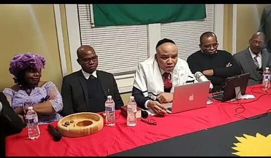 Nnamdi Kanu Announces Date To Come Back To Nigeria