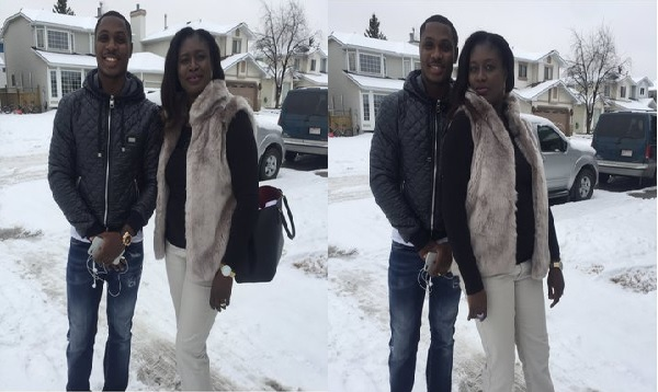BREAKING: Former Super Eagles Striker Odion Ighalo Loss Sister ( Photos)