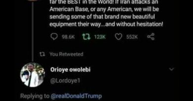 Trump Promise to attack Nigeria as a Nigerian Guy dare him on Twitter