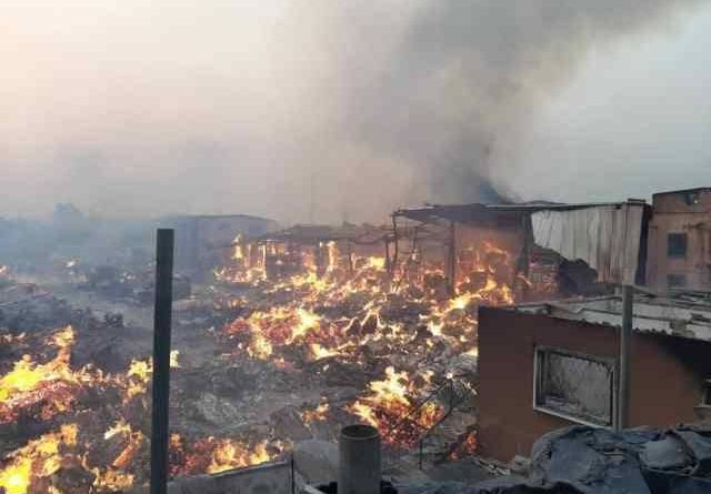 The Main Causes Of Fire Outbreak at Amu Market in Mushin Lagos