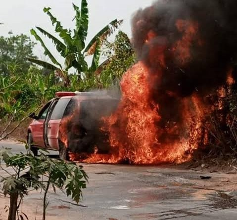 Ambulance Conveying Corpse Of Catholic Priest's Mother Goes Up In Flames (Photos)