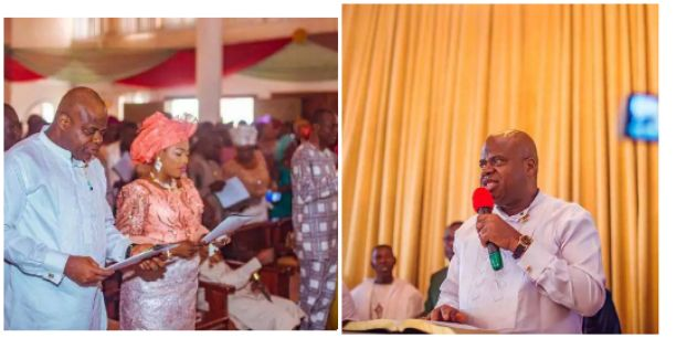 See Photos Of Governor Duoye Diri's Thanksgiving Service