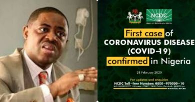 Femi-Fani Kayode Reacts as Nigeria Confirm First Case Of Coronavirus In Lagos State