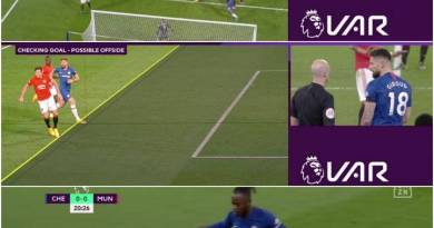 These Photos Reveal That Man United Robbed Chelsea With VAR On 2-0 Win At Stamford Bridge