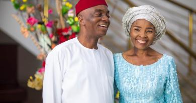 Bishop David Oyedepo Sends Lovely Message to his Wife on her Birthday