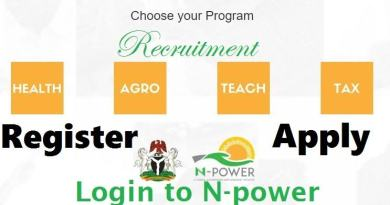 2020/2021 N-Power Registration Requirements And How To Register