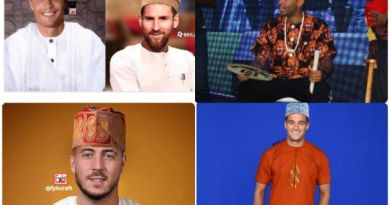 Meet Lionel Messi, Cristiano Ronaldo, other richest footballers stars in Nigeria traditional attire (Photos)