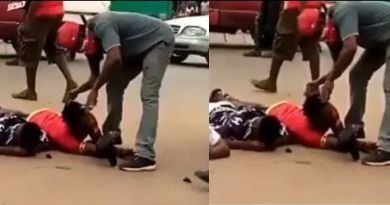 Isakaba are on rampage spotted cutting off the dreadlocks of youths in Edo State (Video)