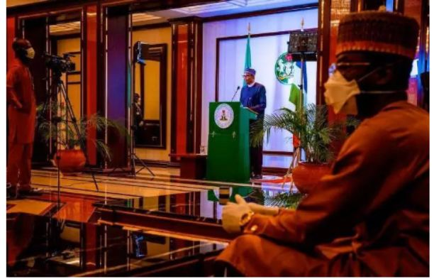 President Buhari address to the nation wasn't LIVE, It was prerecorded - Nigerians react
