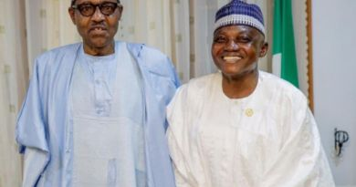 Garba Shehu allegedly reacts after Buhari advises those who attends Abba Kyari's funeral to be self-isolation