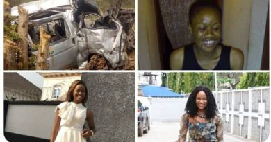 Nigerian Lady Narrates How She Was The Only One That Survived A Fatal Accident In 2016