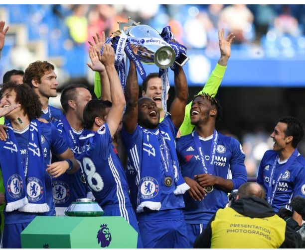 Victor Moses Had Erection When He Lifted League Trophy In Chelsea