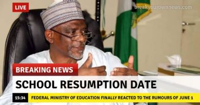 School Resumption Date: Federal Ministry of Education Finally Reacted to the Rumours of June 1
