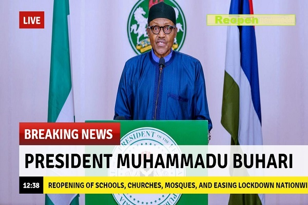 Jubilation as FG set to reopen Schools, Churches, Mosques, and easing lockdown nationwide