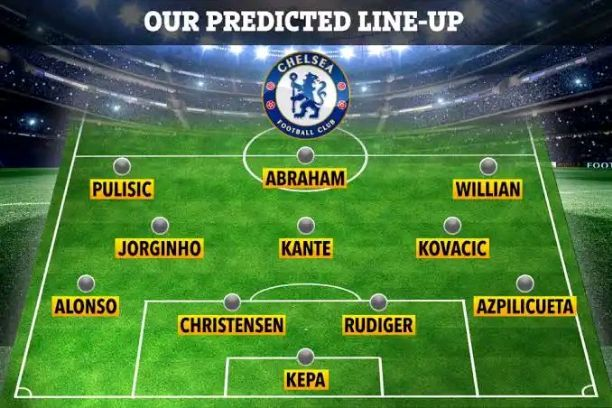 Chelsea Lineup