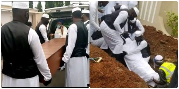 Photos as Senator Abiola Ajimobi's remains laid rest