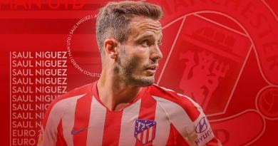 BREAKING: Atletico Madrid star, Saul Niguez finally announces the name of his new club