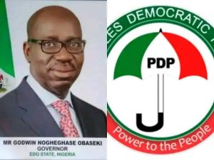 BREAKING: PDP Holds Party As Gov. Obaseki Finally Join the Party (Video)