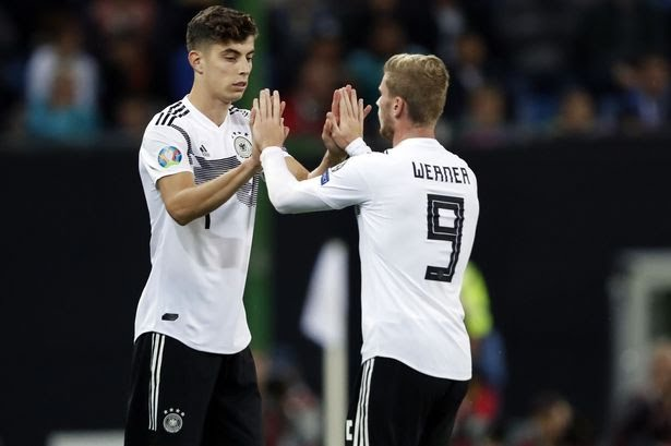 Timo Werner welcome Kai Havertz