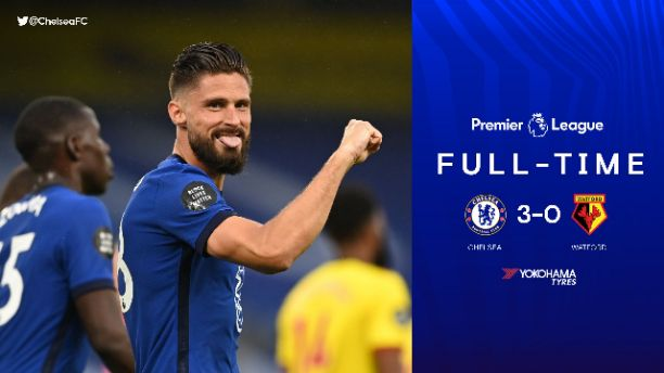 Chelsea 3-0 Watford: Chelsea win over Watford boost their Champions League hope (full highlights)