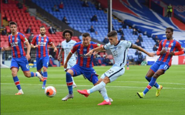 Crystal Palace 2-3 Chelsea: Blues finished third following a win over Palace