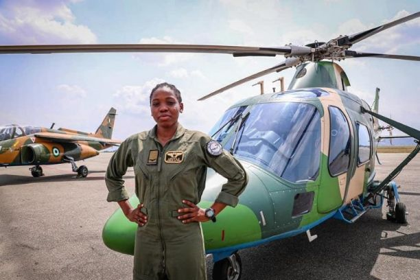 President Buhari, Nigerians Mourn the Sad Lost of First Female Combat Helicopter Pilot in Nigeria, Tolulope Arotile