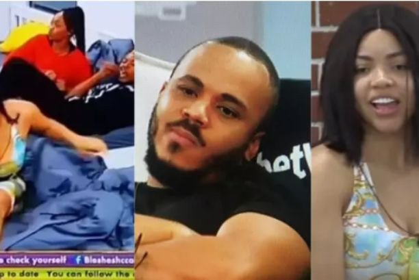 #BBNaijia2020: BBNaija Housemate, Ozo allegedly reacts after he see blood stain on his bed