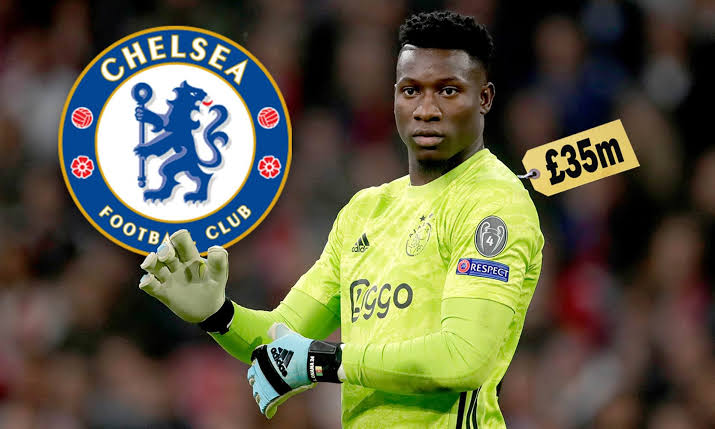 Chelsea close to sign Andre Onana from Ajax