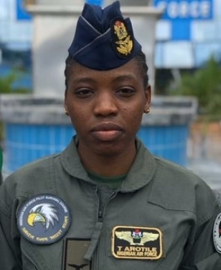 NAF announces date for burial of Tolulope Arotile